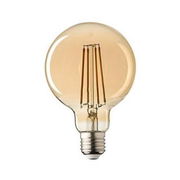 E27 LED Sensor lamp Filament Globe 95 Lybardo 4,2 Watt 2500K Rustique Finish TÜV