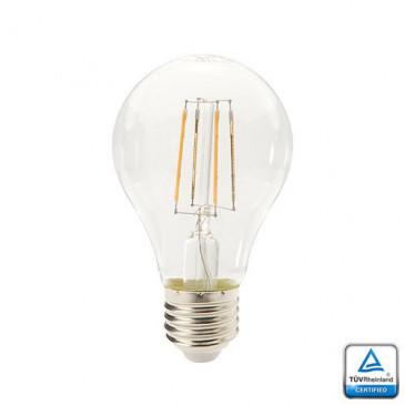 E27 LED Lamp Filament Velino, 4 Watt 2700K TUV Gecertificeerd