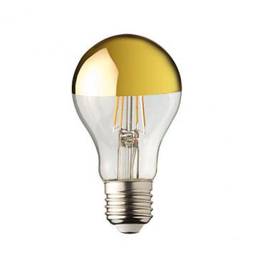 E27 LED lamp Filament Lybardo Kopspiegel Goud 4 Watt 2700K TÜV