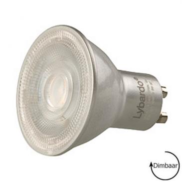 LED GU10 Lybardo ITEC dimbaar 7,8 Watt 540 lumen 3000K