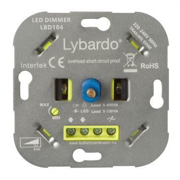 LED Dimmer Lybardo-ITEC 5 - 250 Watt met wisselschakeling