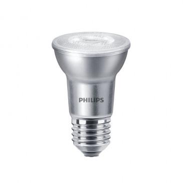 LED Par 20 lamp, Philips 6 Watt 2700K Dimbaar