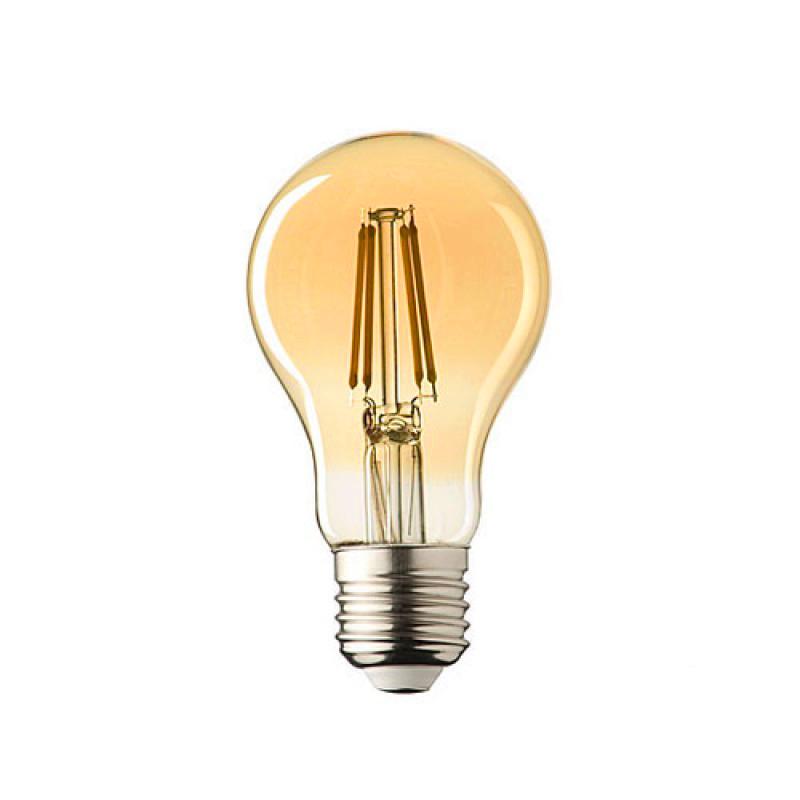 e27 led lamp lybardo 4-stap dimbaar filament, 4 watt 2600k
