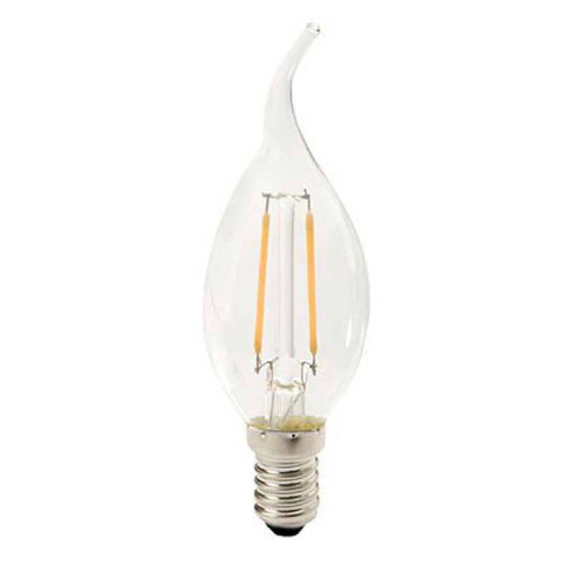 e14 led filament kaarslamp vlam velino 1 3 watt 2700k tuv gecertificeerd. Black Bedroom Furniture Sets. Home Design Ideas