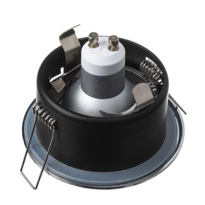 Inbouw Armatuur badkamer IP65 rond mat wit - LEDlampenkopen.nu