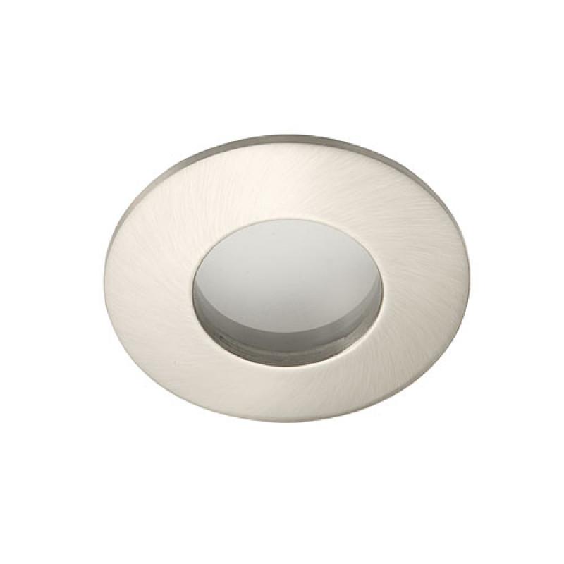 Inbouw armatuur Badkamer IP65 Nikkel geborsteld - LEDlampenkopen.nu