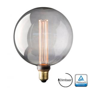 E27 LED Kooldraad lamp Florence Smoke 3.5 Watt 2000K Dimbaar