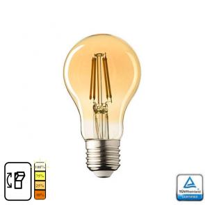 E27 LED Lamp Lybardo 4-stap Dimbaar Filament, 4 Watt 2500K TÜV