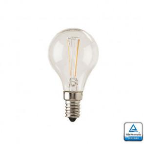 E14 LED Lamp Filament Velino 1,8 Watt 2700K TUV Gecertificeerd