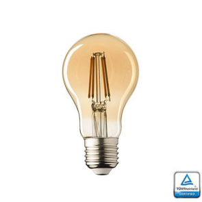 E27 LED lamp Filament Lybardo Rustique 4 Watt 2500K TUV