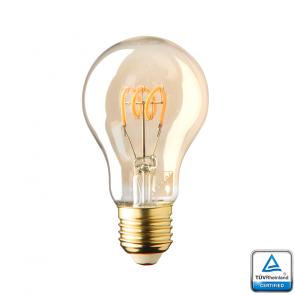 E27 LED dag-nacht Sensor lamp Lybardo Gold 4 Watt 2500K 200 lumen TÜV