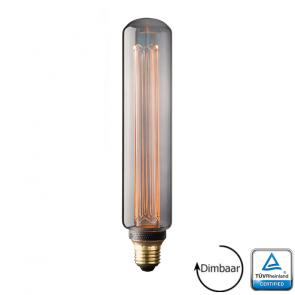 E27 LED Kooldraad lamp Monza Smoke 3.5 Watt 2000K Dimbaar