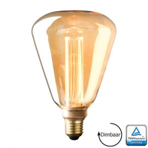 E27 Led Kooldraad lamp Salerno Gold 3.5 Watt 1800K Dimbaar