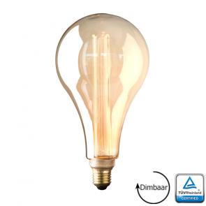 E27 LED Kooldraad lamp Toscane Gold 3.5 Watt 1800K Dimbaar