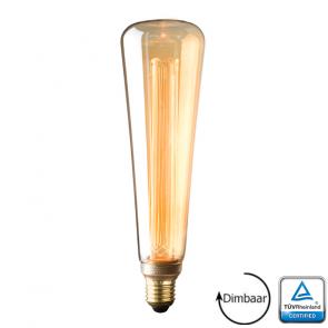 E27 LED Kooldraad lamp Verona Gold 3.5 Watt 1800K Dimbaar