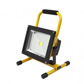 LED Accu Bouwlamp 30 Watt op standaard 5500K