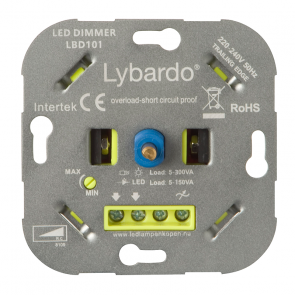 LED Dimmer Lybardo-ITEC 5 - 150 Watt met wisselschakeling