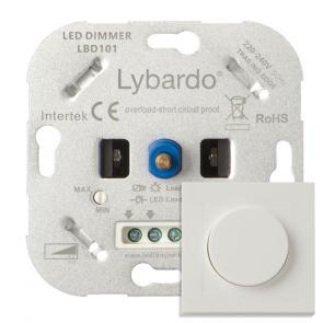 LED Dimmer Lybardo ITEC 5 - 150 Watt compleet met afdekraam