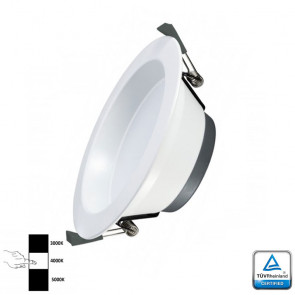 LED Downlight Prof 18 Watt 3- instelbare lichtkleuren TÜV