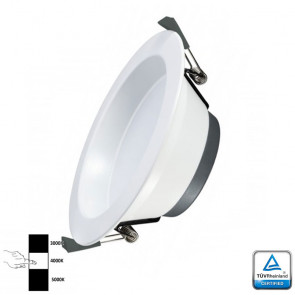 LED Downlight Prof 30 Watt 3- instelbare lichtkleuren TÜV
