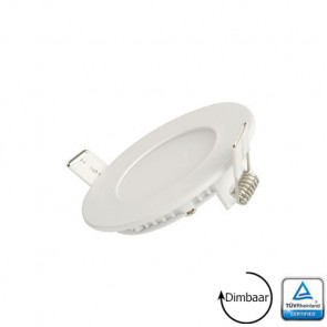 LED Paneel Downlighter 5 Watt 3000K Dimbaar TUV gecertificeerd