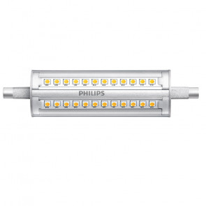 LED Philips staaflamp R7S 118 mm 14 Watt 3000K Dimbaar