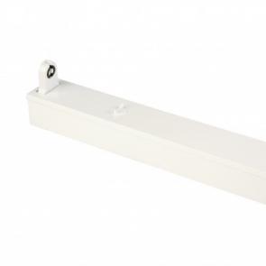 LED TL Armatuur IP20 enkel 150 cm wit, opbouw