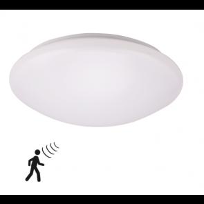LED Wand- en Plafondlamp 18 Watt 3000K met Sensor IP44
