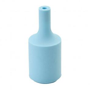Siliconen Fitting Blauw inclusief E27 Fitting