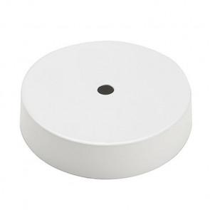 Plafondkap Wit voor 1 snoer