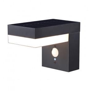 Solar wandlamp, Sensor instelbaar 75-600 lumen