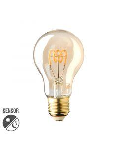 Sensor lamp LED E27 Lybardo Gold 4W 2500K Warm Wit 200 lumen