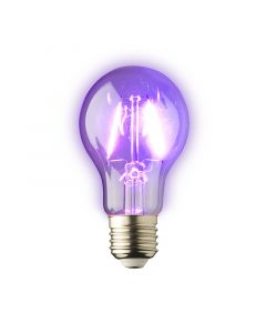 E27 LED Lamp Filament Lybardo 1.5 Watt 120 Lumen, Lichtkleur Purple