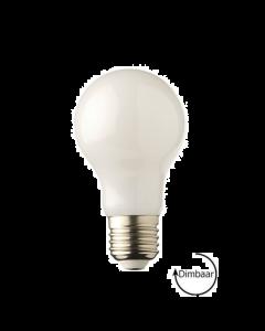 E27 LED lamp Filament Melkglas Lybardo 7W 2700K Warm Wit 750 lm Dimbaar