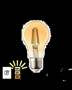 E27 LED Lamp Lybardo 3-stap Dimbaar Filament 4W 2500K Warm Wit