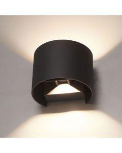 Buitenarmatuur Thebe 2 x 3 Watt dimbaar 3000K lichtspreiding instelbaar IP65
