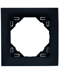 Afdekraam Lybardo 1-voudig Zwart