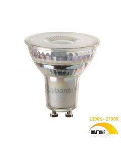 LED GU10 Lybardo 5.5W DimTone 2700K - 2200K