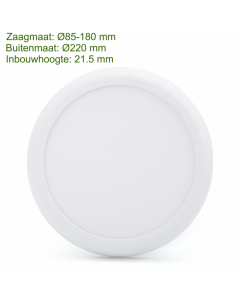 LED downlight rainbow 3 color 12/18W