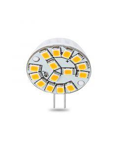 Lybardo LED Lamp G4-GU4 12 Volt plat 2 Watt 2700K 180 lumen vervangt 20 Watt