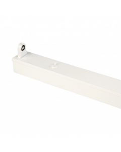 LED TL Armatuur IP20 enkel 60 cm wit, opbouw