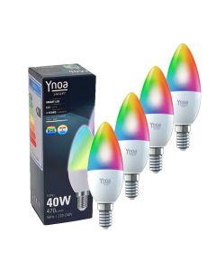 Ynoa Smart uitbreidingset - 4 x E14 lamp RGBW