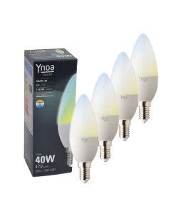 Ynoa Smart uitbreidingset - 4 x E14 lamp CCT