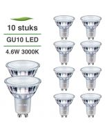 10 Pack Philips CorePro LED GU10 4.6W 3000K Warm Wit