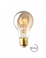 E27 LED lamp spiraal Lybardo Smoke 4W 2100K Extra Warm Dimbaar