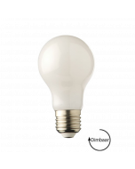 E27 LED lamp Filament Melkglas Lybardo 7.5W 2700K Warm Wit 750 lm Dimbaar