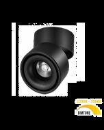 LED downlight opbouw Yitta 15W dim to warm zwart
