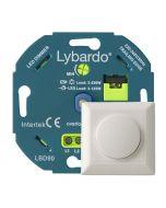Lybardo Eco 3-125 Watt LED Dimmer - Fase Afsnijding - Universeel - Inbouw - Compleet met afdekraam