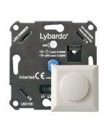 Lybardo ITEC 3-200W LED Dimmer - Fase Afsnijding - Universeel - Compleet met afdekraam