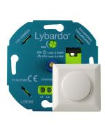 Lybardo Eco LED Dimmer 3 - 125 Watt Fase afsnijding Universeel compleet met afdekraam